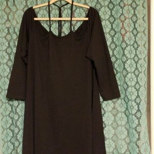 Strappy Bardot Dress